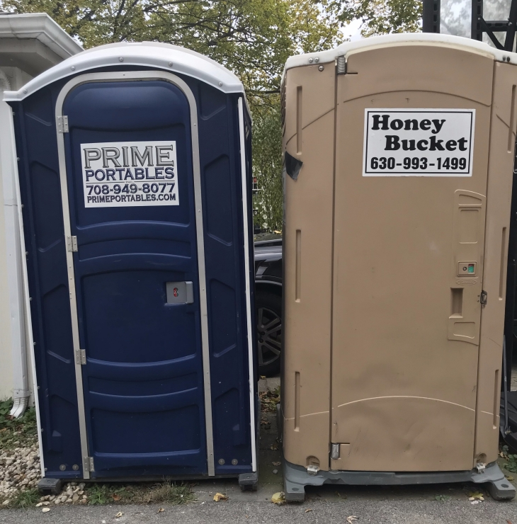 Two Porta-potties?