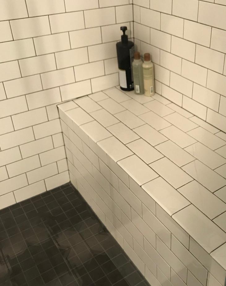 Subway Tile Bench