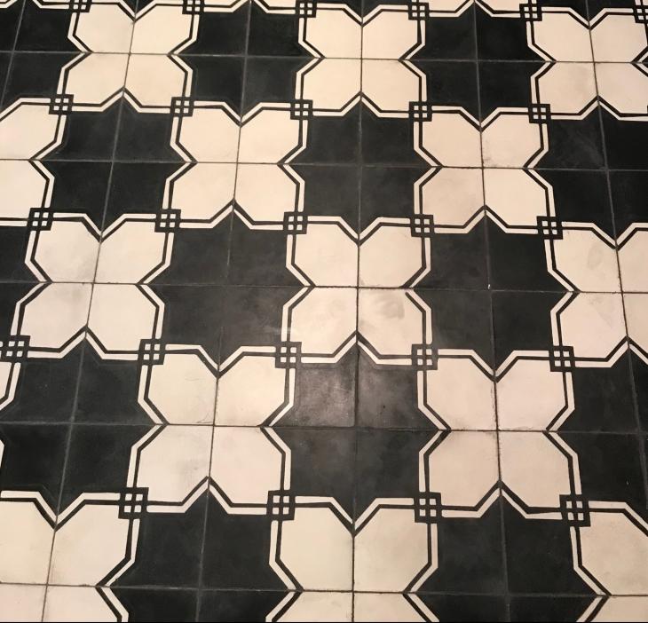 Heated Sabine Hill Tile Floor